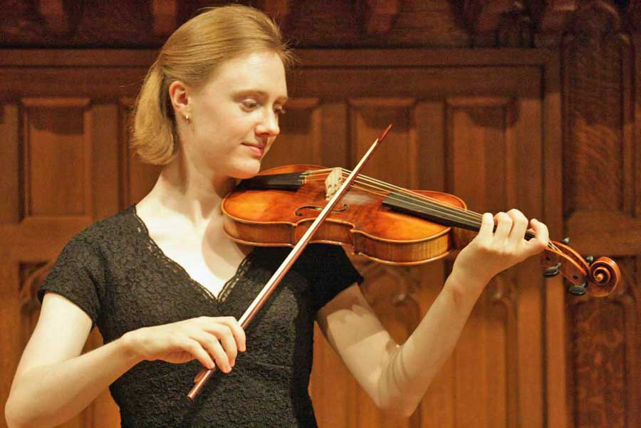 Christine Wilkinson Beckman, baroque violin