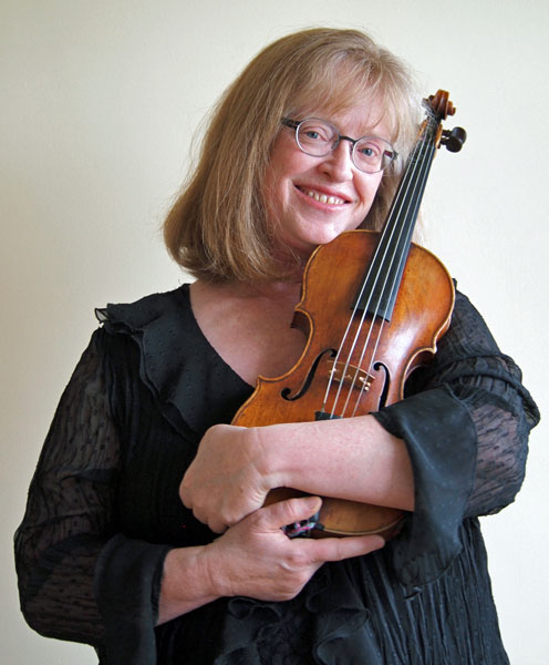 Linda Melsted – baroque violin